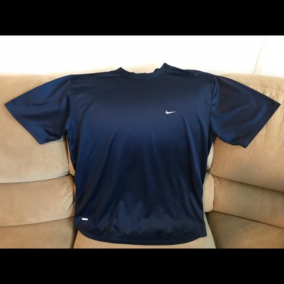 b9ed1967 Nike Shirts | Mens Drifit Navy Blue T Shirt Sz Xl | Poshmark